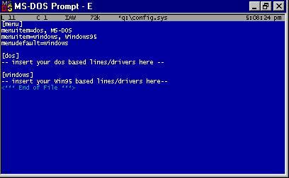 3D Realms Site: Tech Support: Windows 95 Multiboot